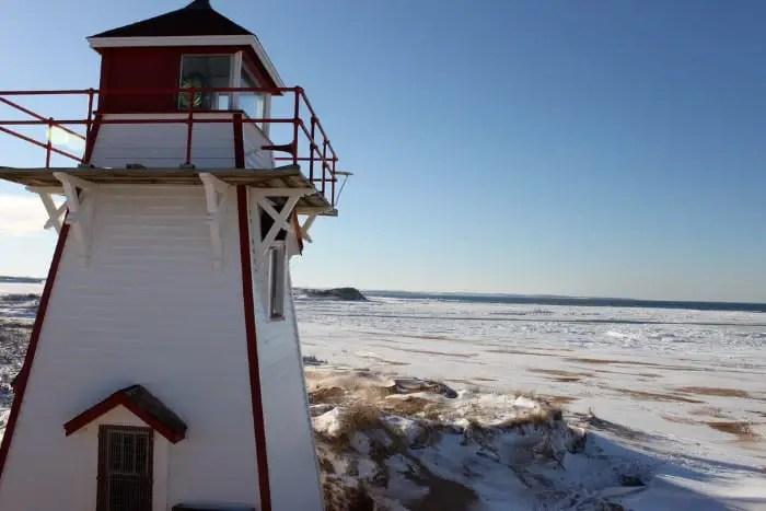 Brackley Beach lighthouse