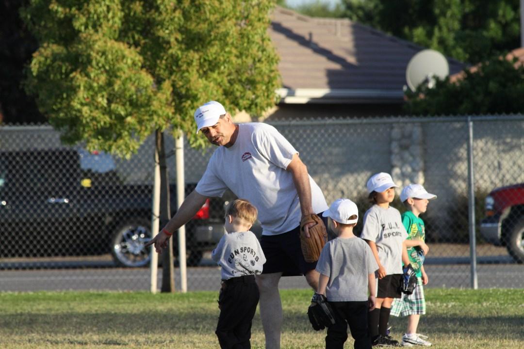 Coach Pitch Fun Sports Bakersfield CA