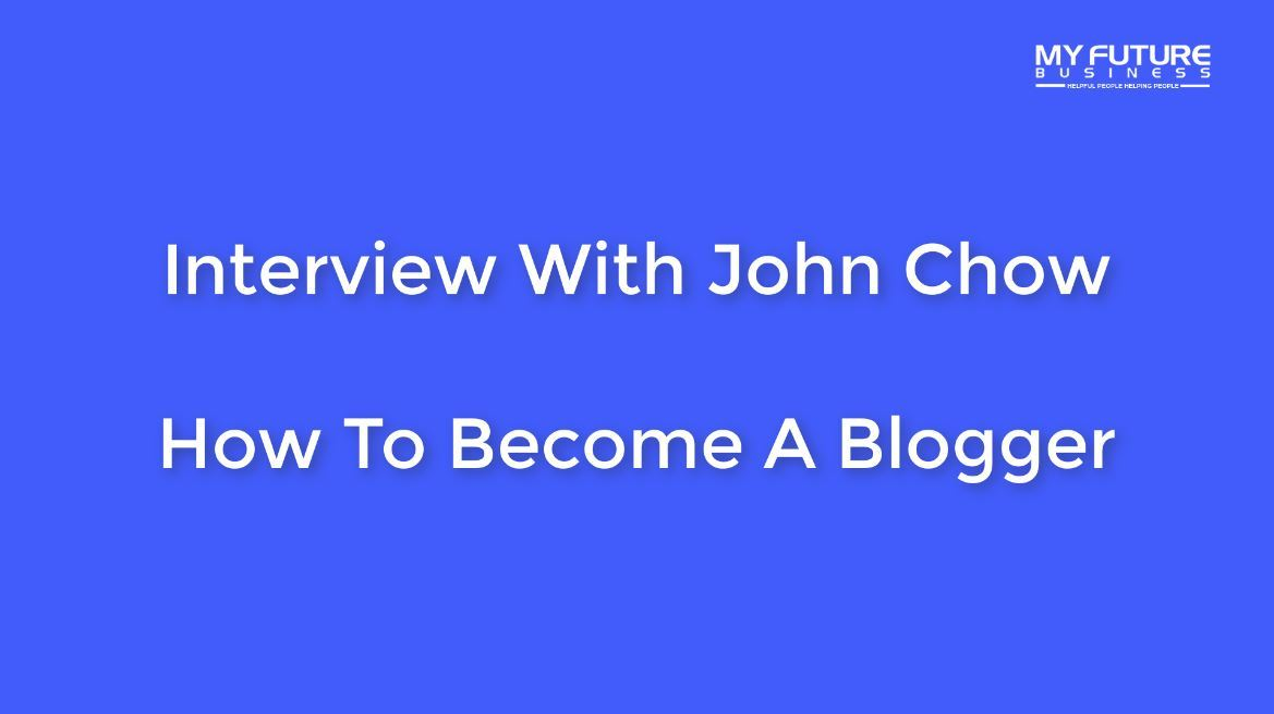 John Chow Talks Blogging