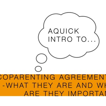Video: Coparenting agreements