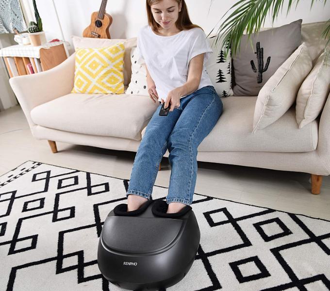 RENPHO Foot Massager Machine with Heat f