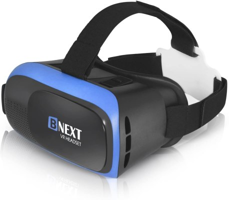 VR Headset Compatible with iPhone Android Phone