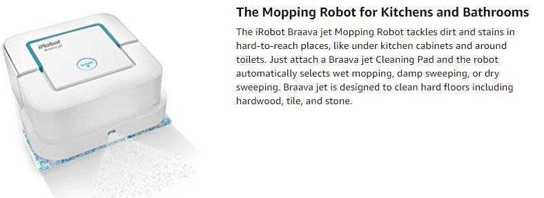 iRobot Braava jet 240 Superior Robot Mop
