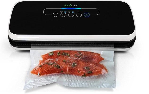 nutrichef vacuum sealer smart kitchen gadgets