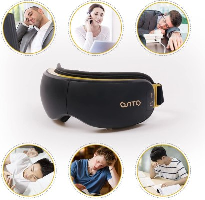 OSITO Rechargeable Eye Massager with heat