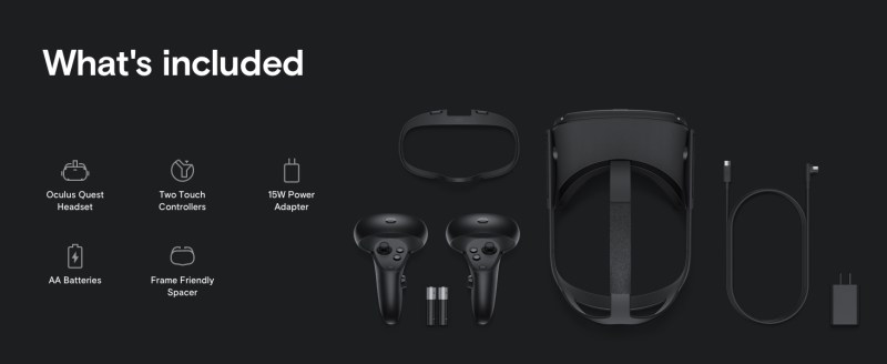 Oculus Quest All in one VR Gaming Headset – 64GB