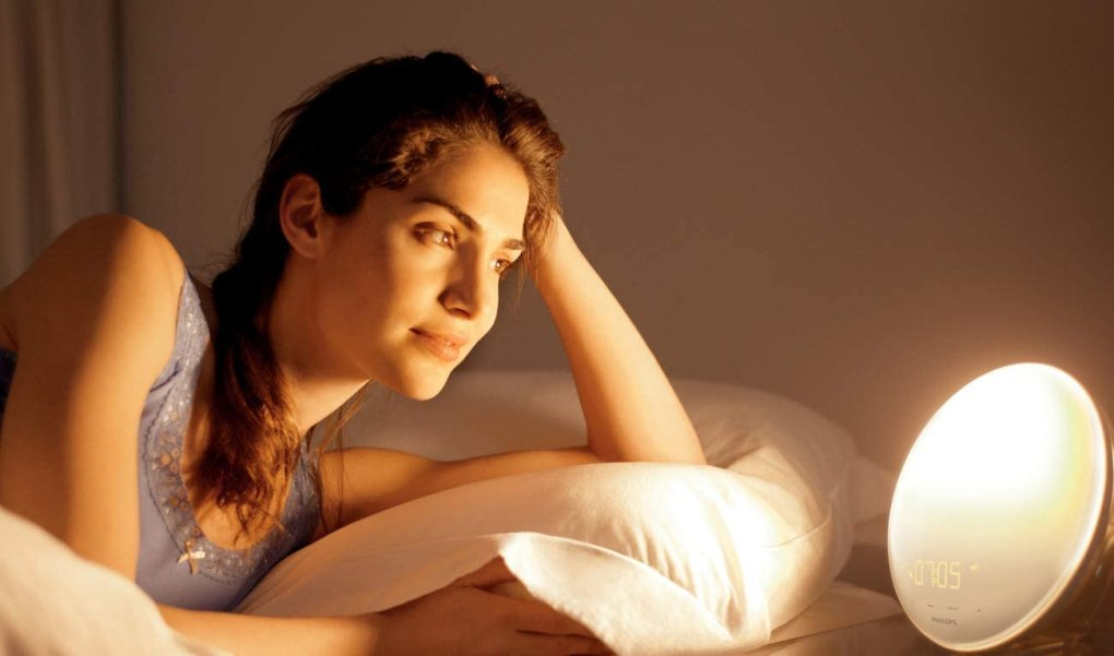 Philips Smartsleep Sleep and Wake up Light Therapy Lamp