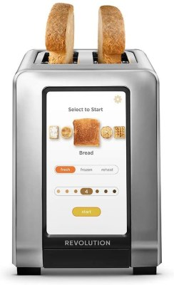 Revolution Cooking High Speed 2 Slice Stainless Steel Smart Toaster
