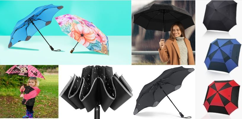 the best umbrella for rain and wind