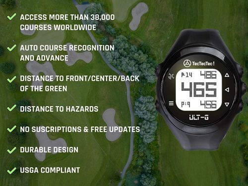 TecTecTec ULT G Golf GPS Watch