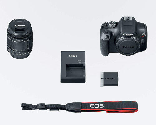 Canon EOS Rebel T7 DSLR Camera with 18 55mm
