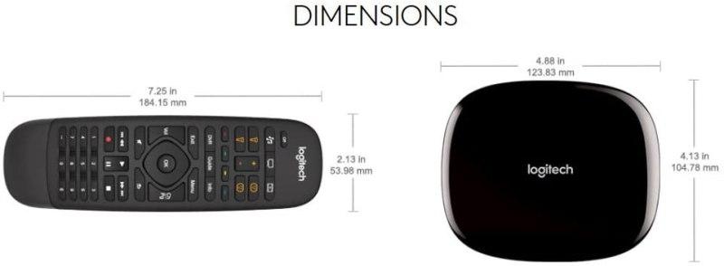Logitech Harmony Companion All in One Remote Controls