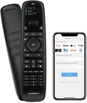 SofaBaton Universal Remote Control with Mobile Phone APP