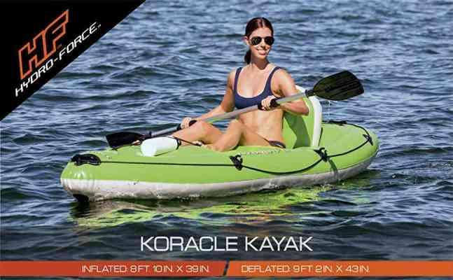 Bestway Hydro Force Koracle Inflatable Best Whitewater Kayaks Set 1