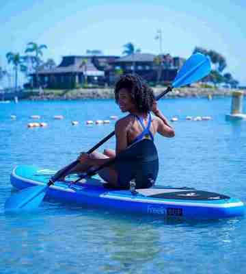 Freein Stand Up Paddle Board with Kayak Conversion Kit 1