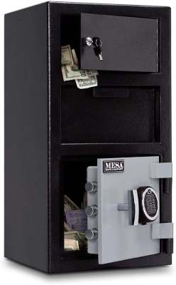 Mesa Safe MESA MFL2014E OLK All Steel Depository Safe Best Digital Locker