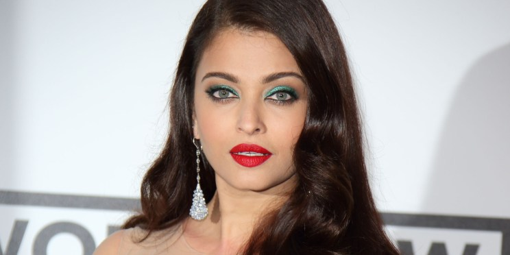 CAP D'ANTIBES, FRANCE - MAY 22: Aishwarya Rai attends amfAR's 21st Cinema Against AIDS Gala, Presented By WORLDVIEW, BOLD FILMS, And BVLGARI at the 67th Annual Cannes Film Festival on May 22, 2014 in Cap d'Antibes, France. (Photo by Mike Marsland/WireImage)