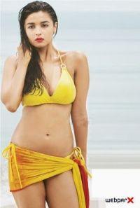 Alia Bhatt Bikini Photoshoot - Webparx