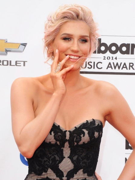 LAS VEGAS, NV - MAY 18: Singer Kesha arrives at the 2014 Billboard Music Awards at the MGM Grand Hotel and Casino on May 18, 2014 in Las Vegas, Nevada. (Photo by Jon Kopaloff/FilmMagic)