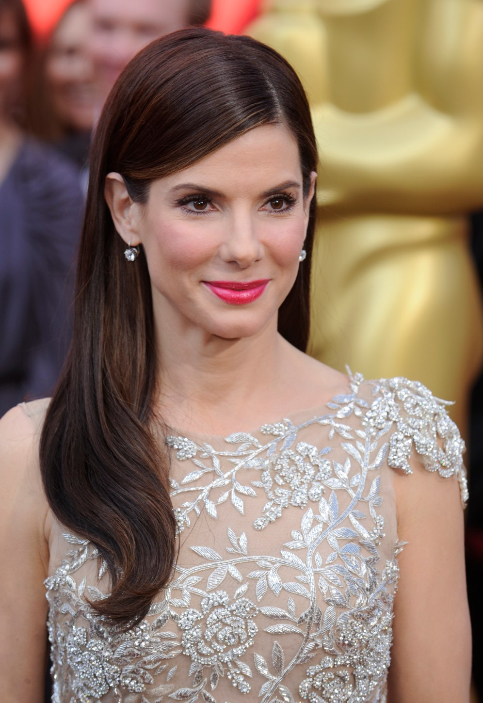 Sandra Bullock arrives at the 82nd annual Academy Awards in Hollywood on March 7, 2010.