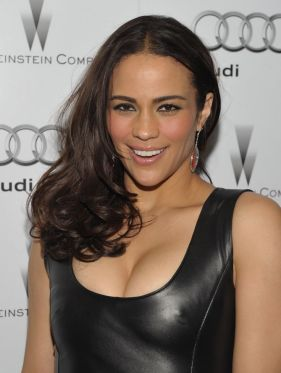 LOS ANGELES, CA - JANUARY 11: Actress Paula Patton attends the party hosted by the Weinstein Company and Audi to Celebrate Awards Season at Chateau Marmont on January 11, 2012 in Los Angeles, California. (Photo by John Shearer/Getty Images for Audi)