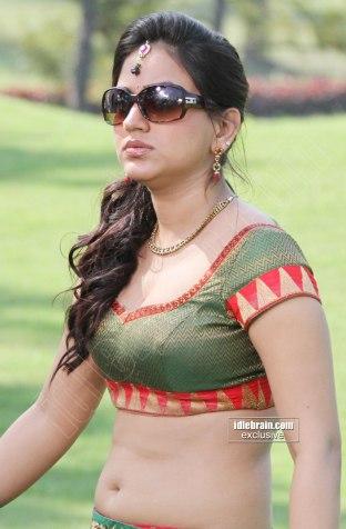 Aksha Pardasany hot navel and cleavage show from latest Telugu movie Rye Rye stills (4)