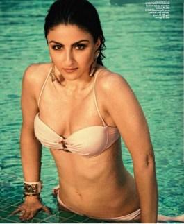 Soha-Ali-Khan-Hot-Bikini-Photoshoot-Maxim-June-2014-Pic-4