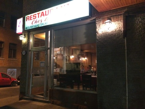 モントリオールのポルトガルレストラン