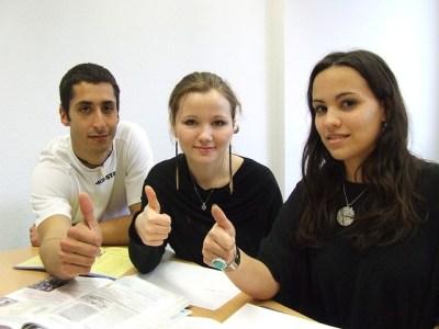 語学学校、留学、友人
