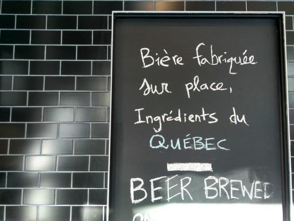 Dispensaireモントリオールのクラフトビール