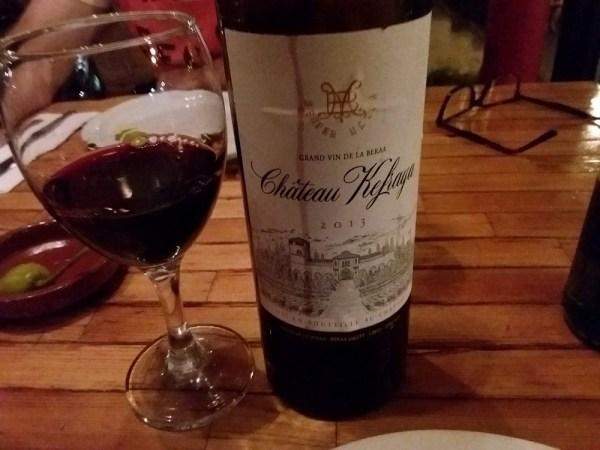 レバノンのワイン
