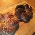 トルコのパン「シミット」のレシピ【中力粉(オールパーパスフラワー)使用】