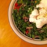 水切ヨーグルトとケールのサラダ地中海風のレシピ