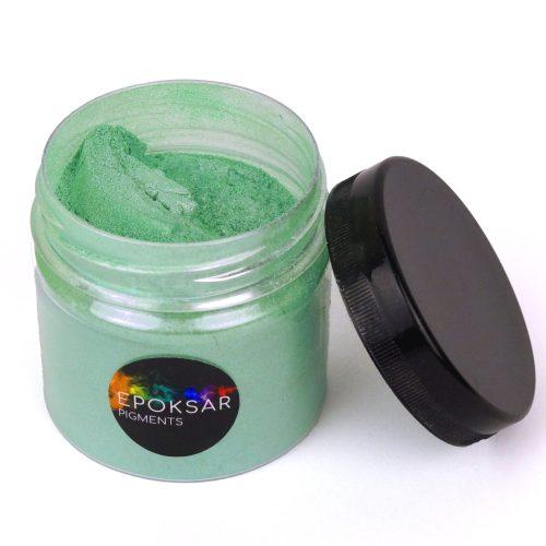 зелений перламутровий барвник для епоксидної смоли