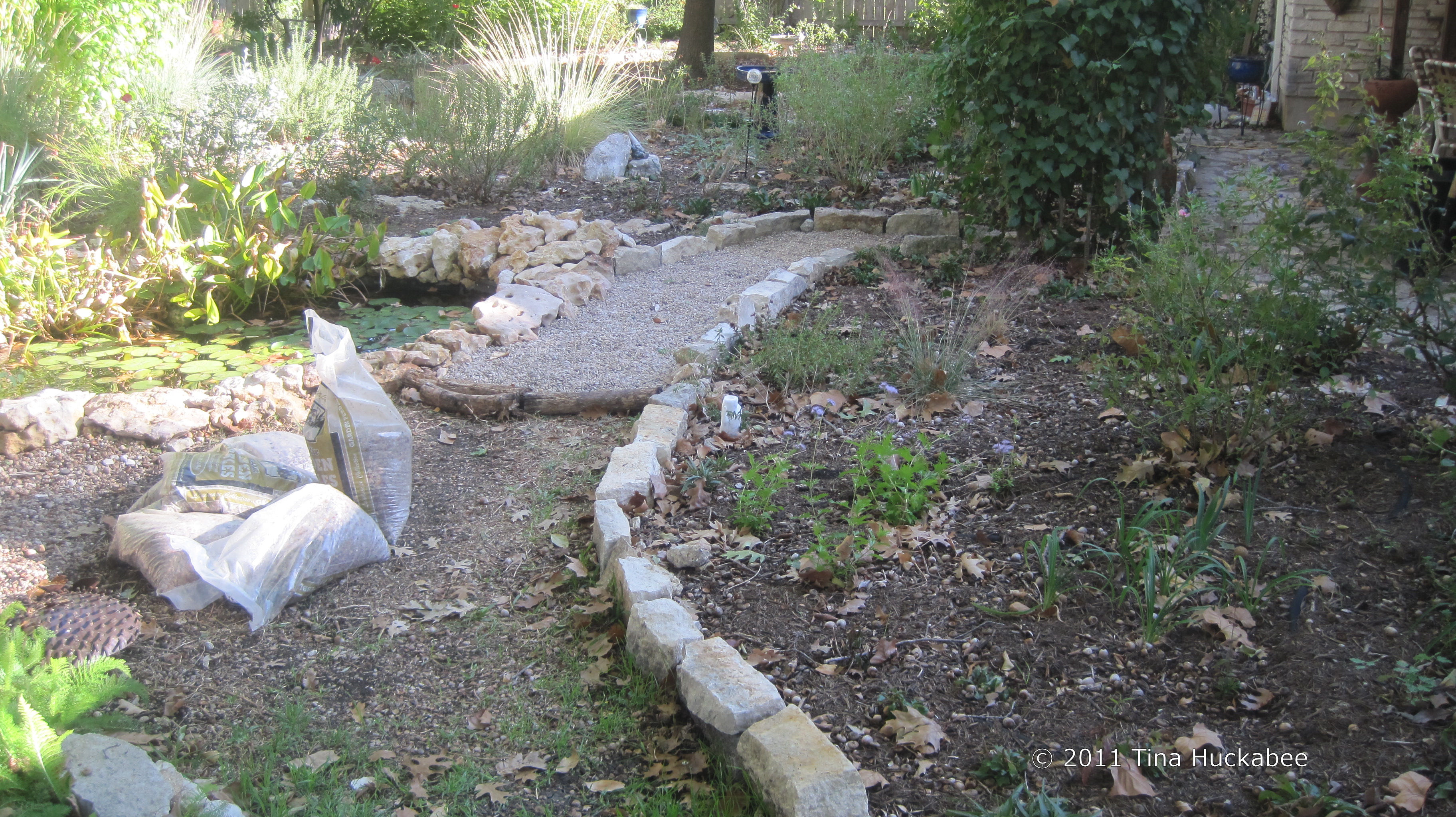 Pea Gravel My Gardener Says
