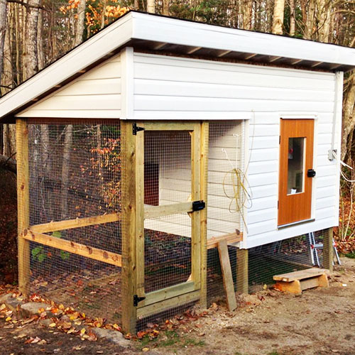 How to Insulate a Chicken Coop