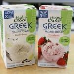 Healthy Choice Greek Frozen Yogurt Spotting