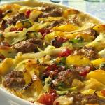 Delicious Beef and Cabbage Casserole