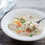 The Best Creamy Chicken and Rice Soup