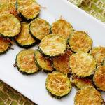 Zucchini Parmesan Crispy Chips Recipe