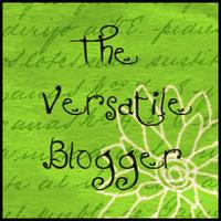 Versatile Blogger Award   GBGV