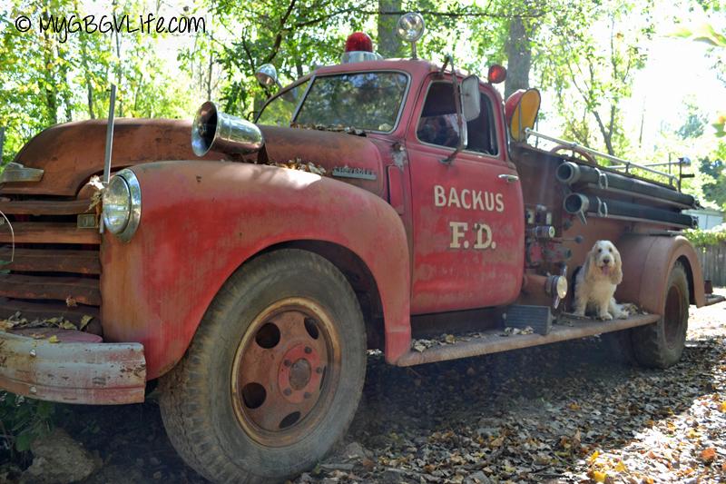 GBGV old fire truck