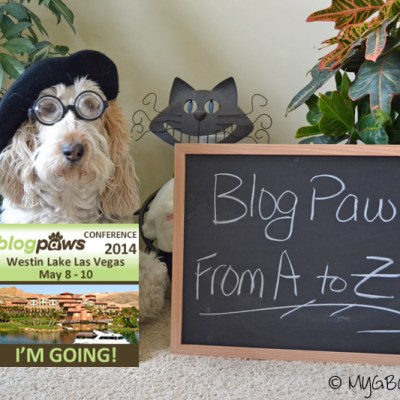 BlogPaws From A to Z | GBGV | Barks and Bytes