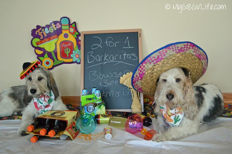 My GBGV Life Bailie and Emma having Fiesta time