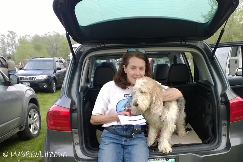 My GBGV Life success and failure with your dog, Mom and I after I passed my ORT