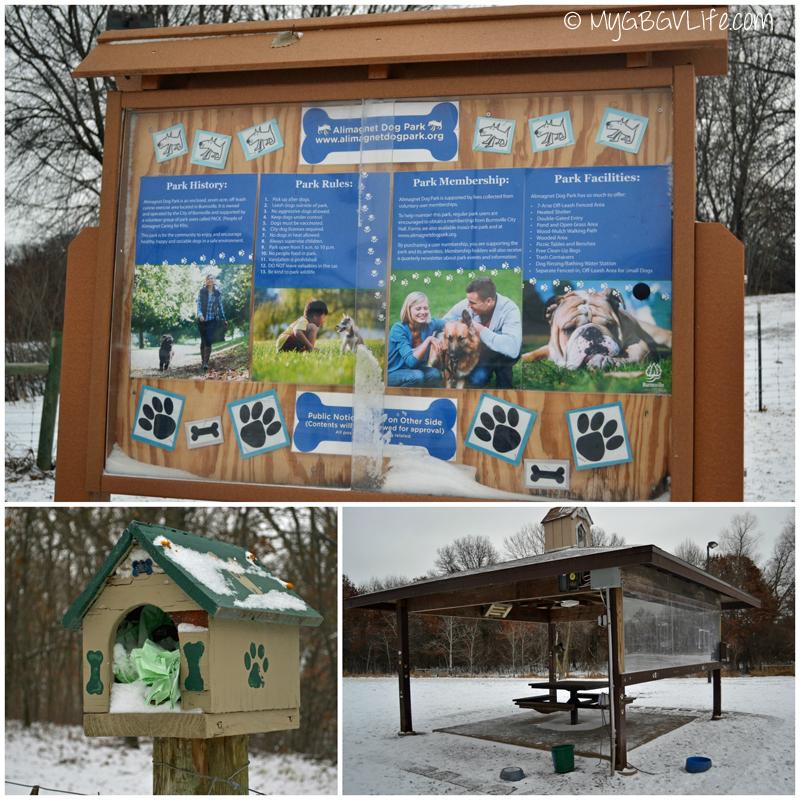 My GBGV Life dog park sign