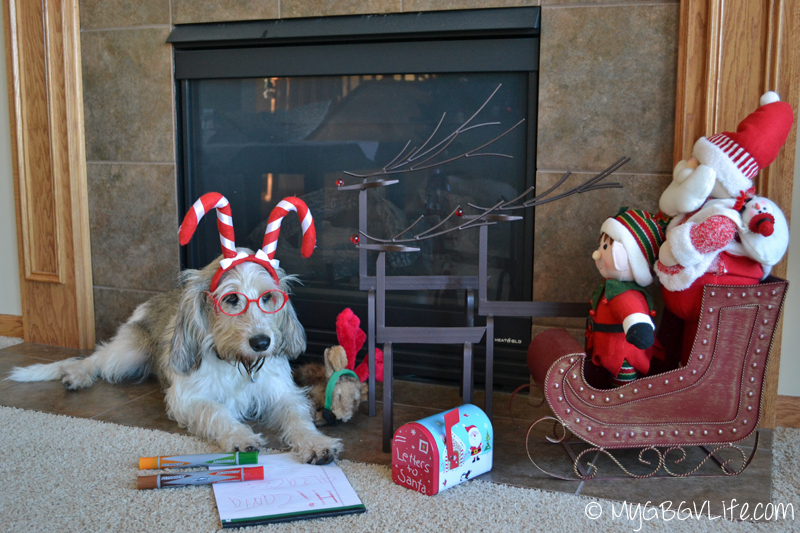 My GBGV LIfe Bailie writes her 2014 letter to Santa Claus