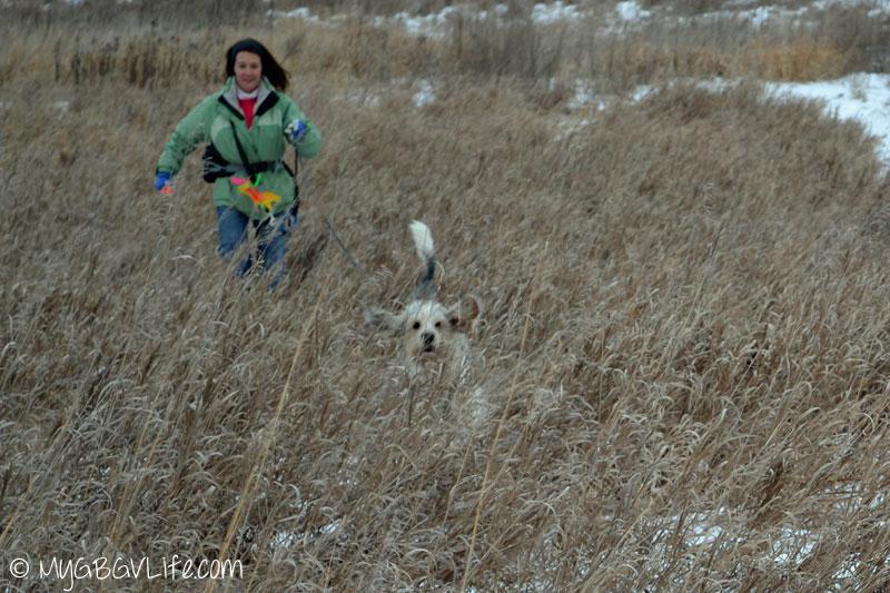 My GBGV Life Bailie and Mom on a track