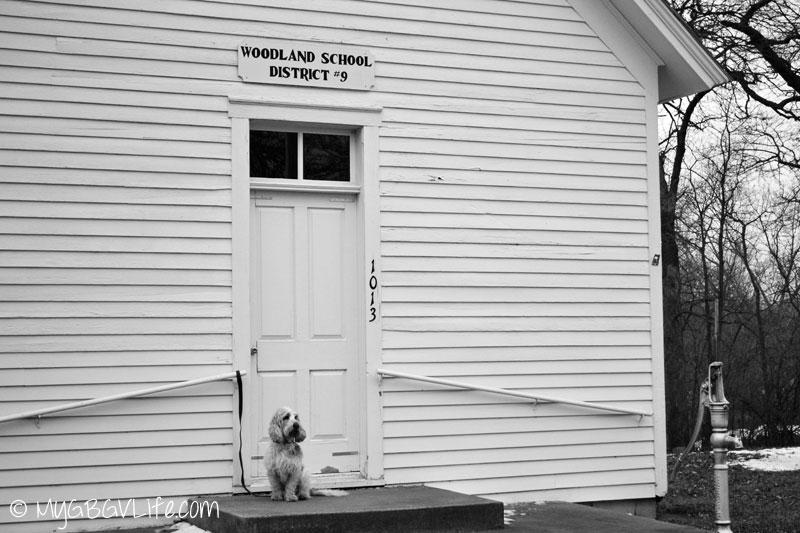 My GBGV Life schoolhouse on history lane