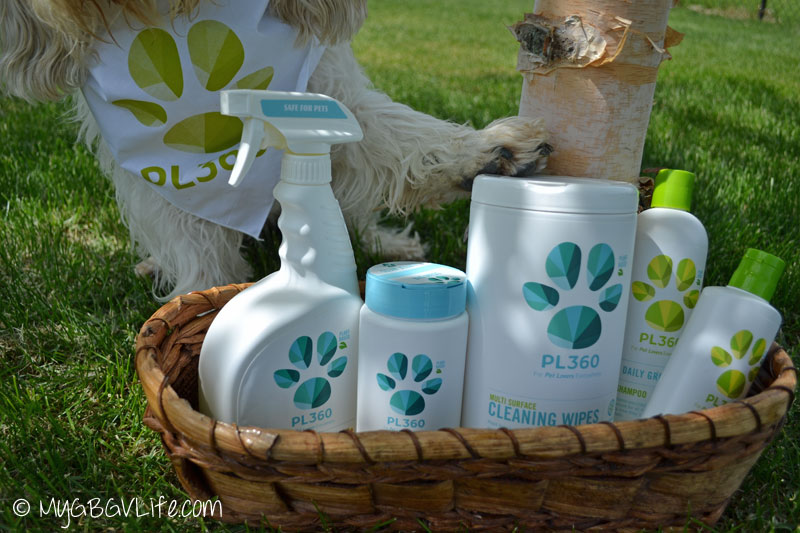 My GBGV Life with pet friendly products from PL360